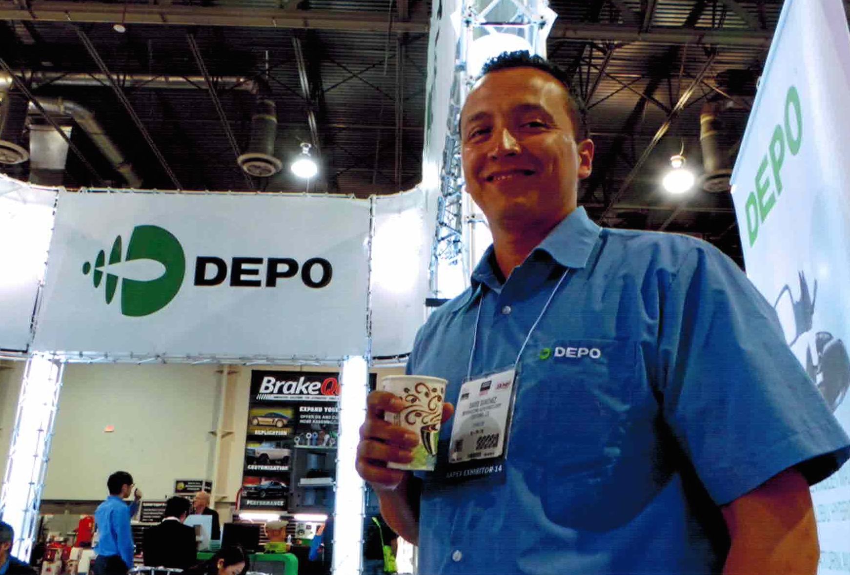 David Sanchez of Maxzone at AAPEX.