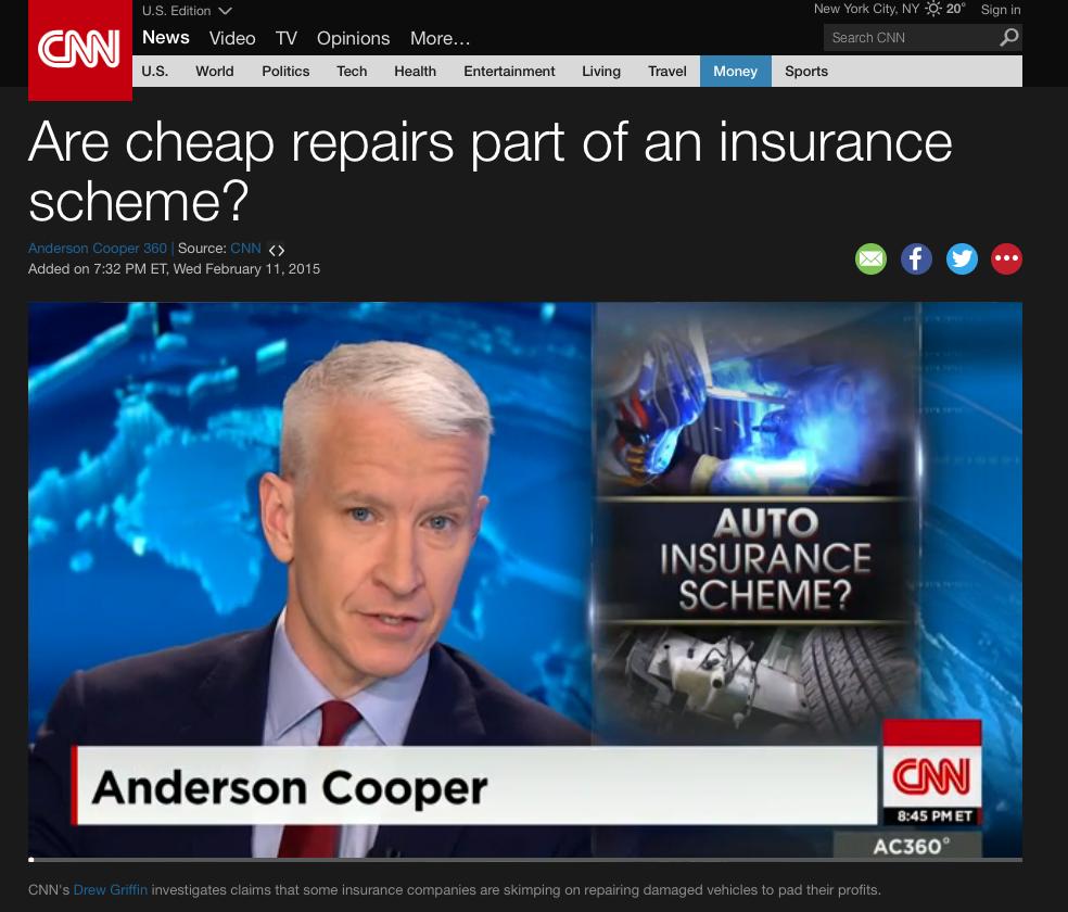 CNN Anderson Cooper Report