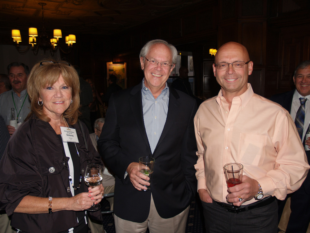 Dolores Richardson of At Pac (left) has been nominated for the RBC Canadian Women Entrepreneur Award. Dolores is seen here at the 2015 ABPA Annual Meeting with Jack Gillis of CAPA, and Gary Suchan of At Pac.