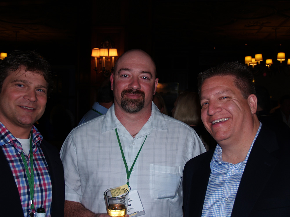 Terry Westedt of Rydell, Mike Orlich of APU Solutions, and Dan Fernandez of APU Solutions.