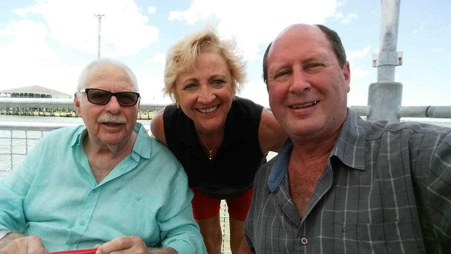 Former ABPA Executive Director Stan Rodman reunites with Judy and Bob Schmoker of Flexipak.
