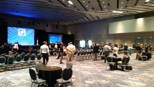 The Anaheim Convention Center was a spacious and comfortable location for NACE this year.