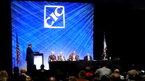 CIC panel discussion on aftermarket parts.