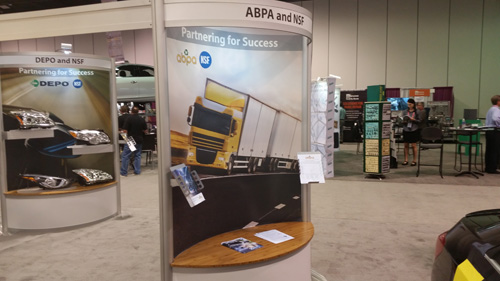 ABPA promotional literature was on display in our booth at NACE.